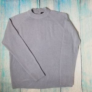 Soho Lady New York  gray knitted top size L